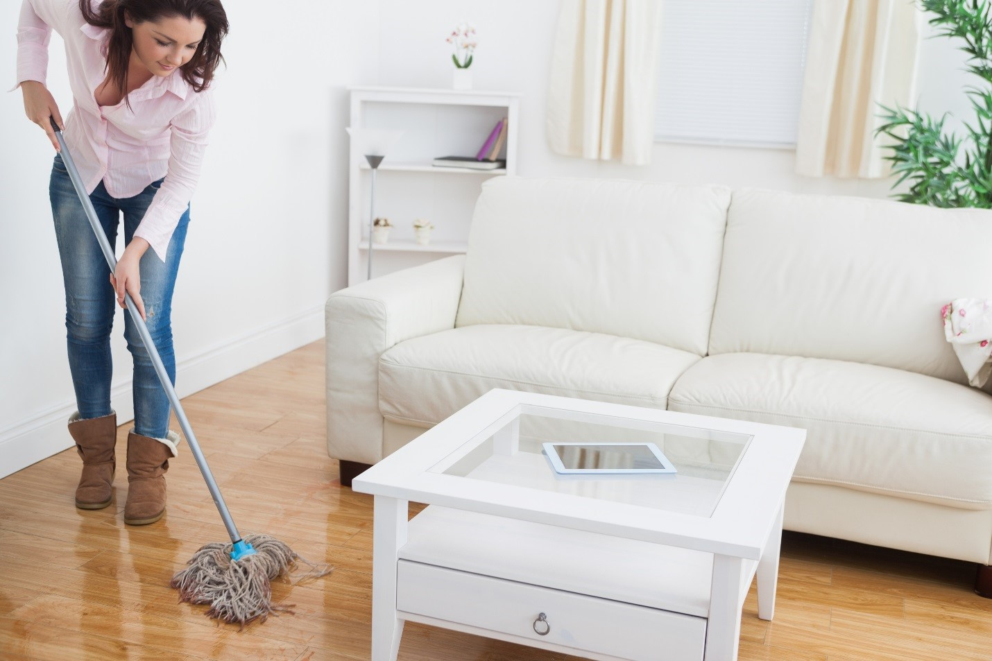 Wood floor cleaning services to get the wooden shine back for Floor cleaning services