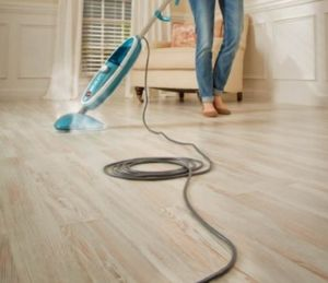The Combination Of Vinegar And Water Is Not Only Way To Disinfect Your Wood Floor If Needed You Can Even Try Steam Mopping Make It Germ Free