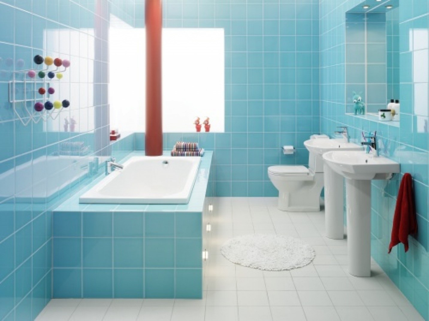 Cleaning Bathroom Tiles To Perfection For Festive Season - How long does it take to tile a bathroom