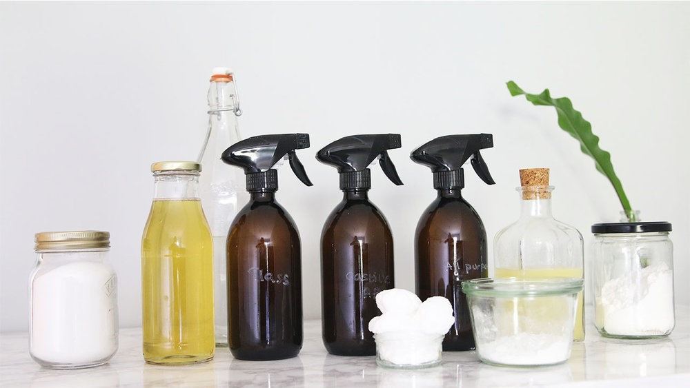 Kitchen Ingredients For Tile And Grout Cleaning